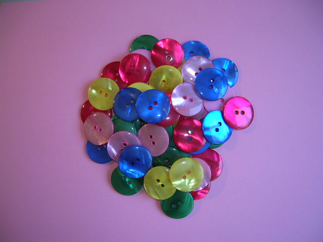 Buttons Large pack of 50 pieces